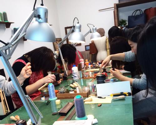 渋谷 革 教室