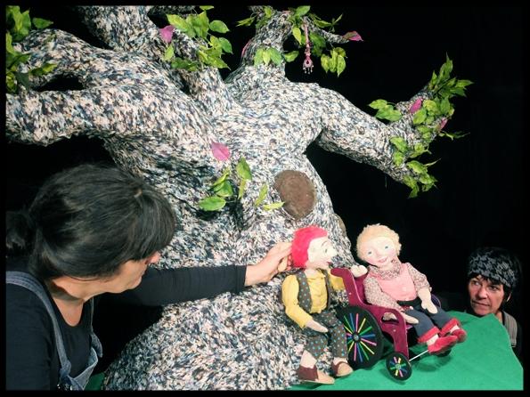 spectacle de marionnettes colette et didier