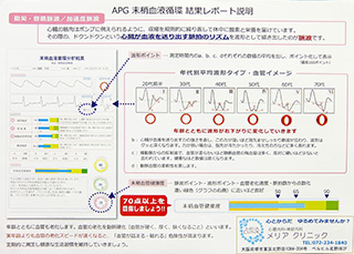 APG 末梢血流循環