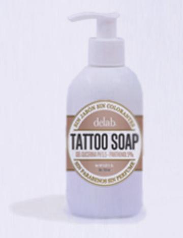 Prodotti naturali per la cura dei tatuaggi con pantenolo erboristeria l e a - Sapone neutro per pulizie casa ...