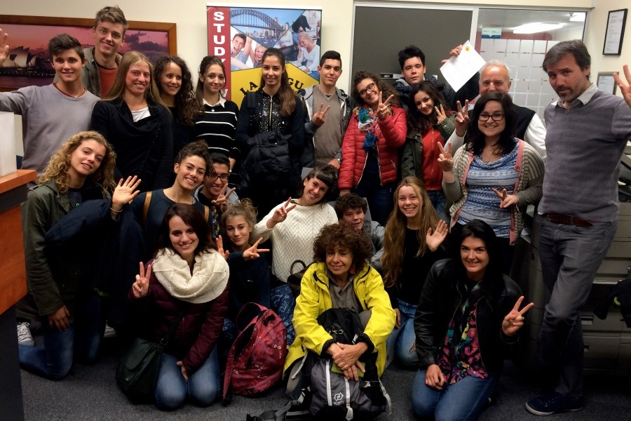 ラ・リングア・ランゲージ・スクール 国際色豊かな留学生たち