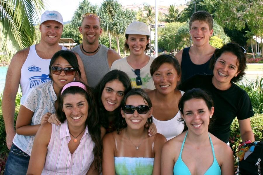 ウィットサンデーズ・カレッジ・オブ・イングリッシュ 国際色豊かな留学生はいつも仲良し