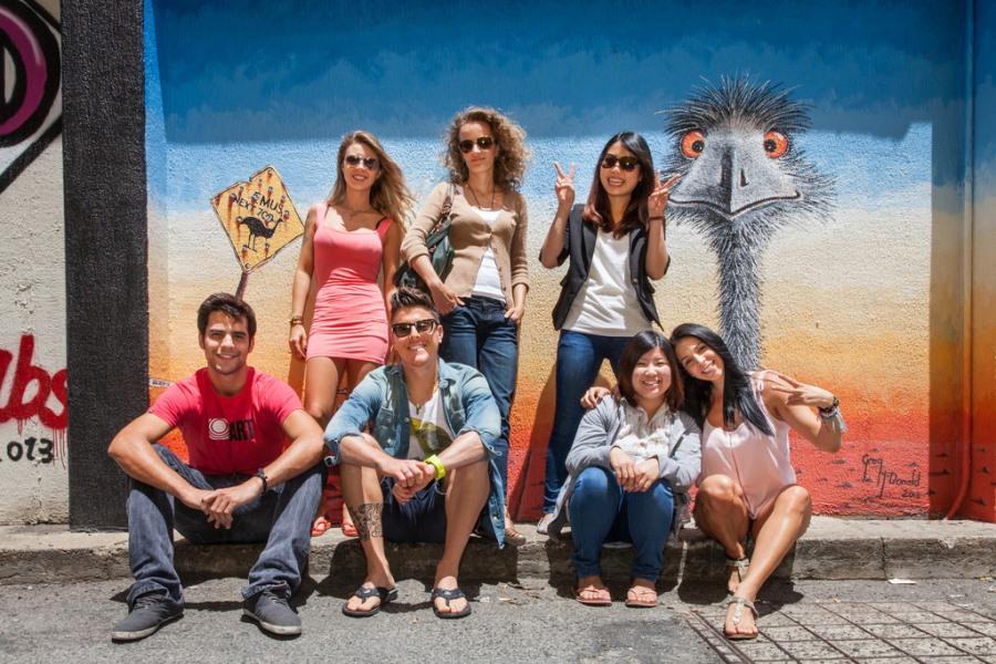 インフォーラム・エデュケーション・オーストラリア 国際色豊かな留学生たち