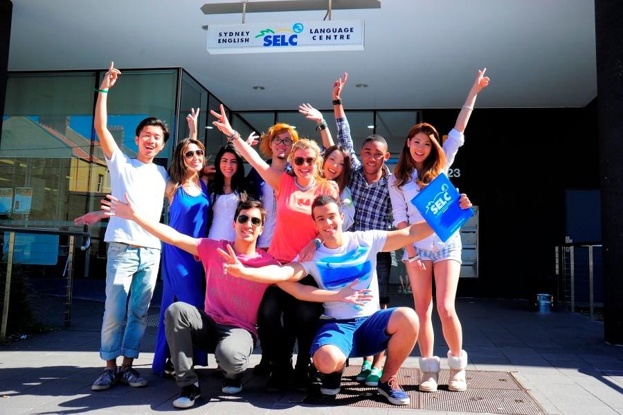 Sydney English Language Centre セルク(ボンダイ校) 国際色豊かな留学生たち