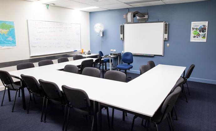 エンバシー・イングリッシュ(サーファーズパラダイス校) 教室