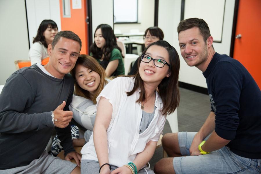 インフォーラム・エデュケーション・オーストラリア 楽しそうな留学生たち