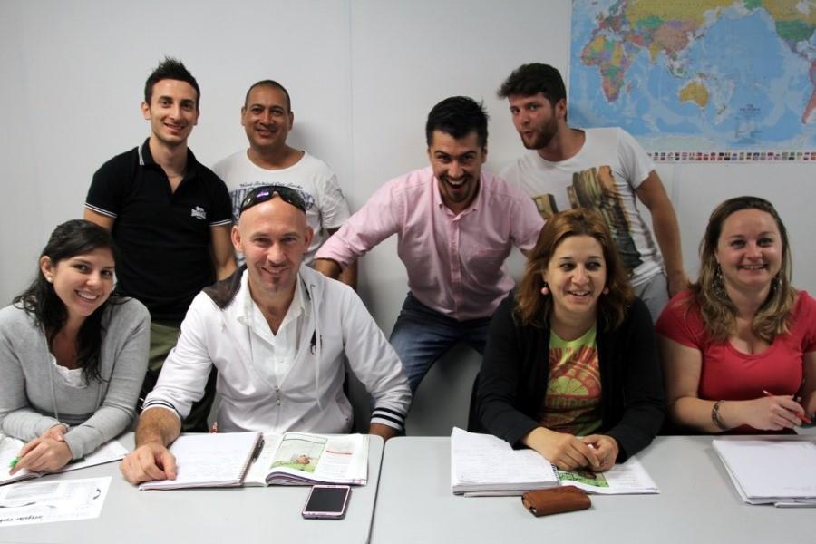 フュージョン・イングリッシュ(メルボルン校) 教師と留学生たち