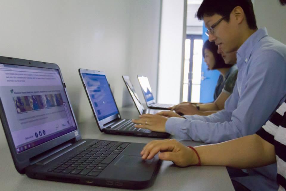 フュージョン・イングリッシュ(ブリスベン校) コンピュータールーム