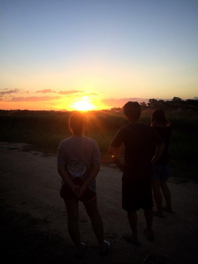 マリーバの夕日