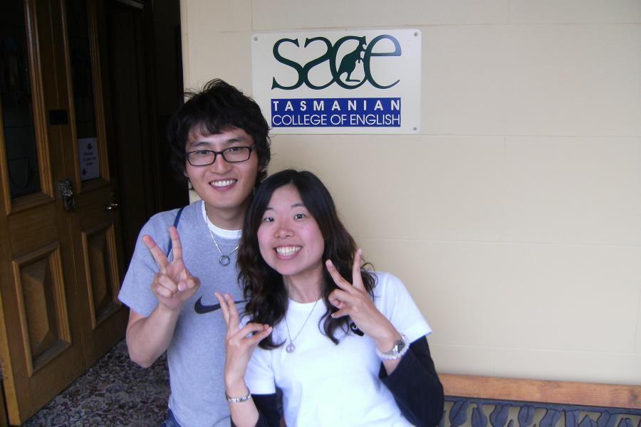 SACE ホバート 留学生たちも楽しそう