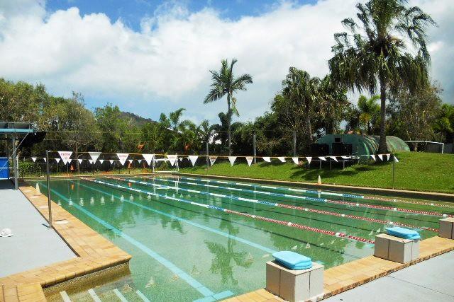 サン・パシフィック・カレッジ 学校内にはプール、ジムなどもあり施設が充実
