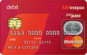 ウエストパック デビット MasterCard