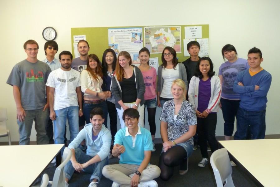 SACE アデレード 英語レベルでクラスわけされています。