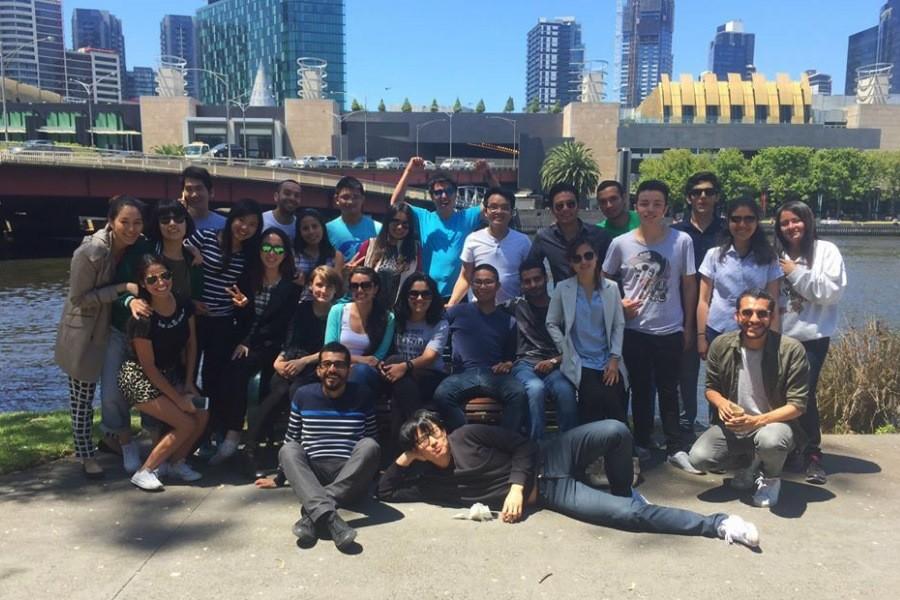 SACE メルボルン 国際色豊かな留学生たち