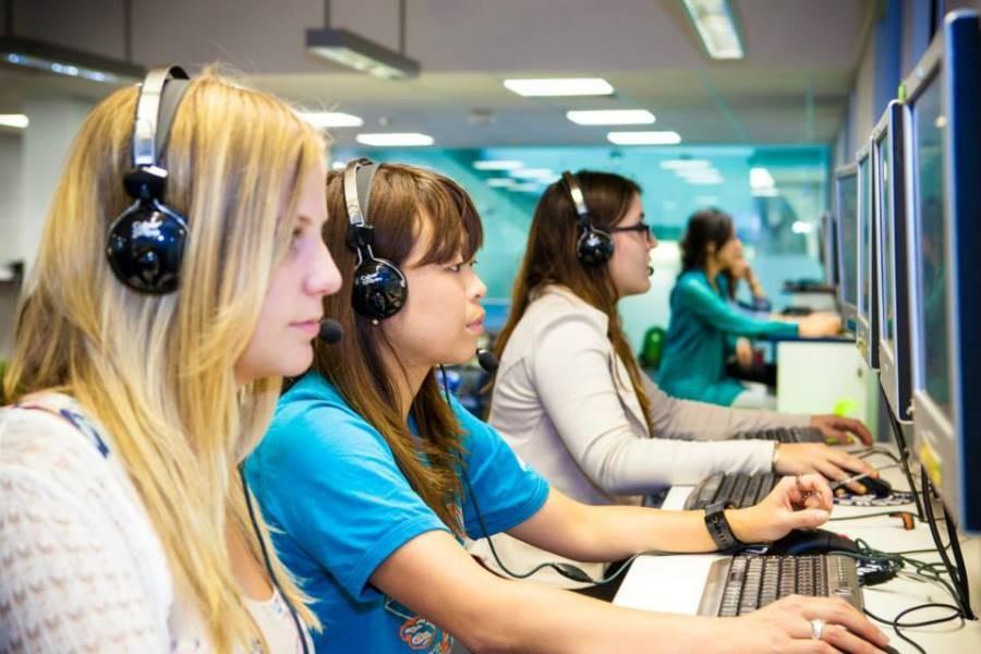 ラングポーツ・イングリッシュ・ランゲージ・カレッジ(ブリスベン校) コンピュータールーム