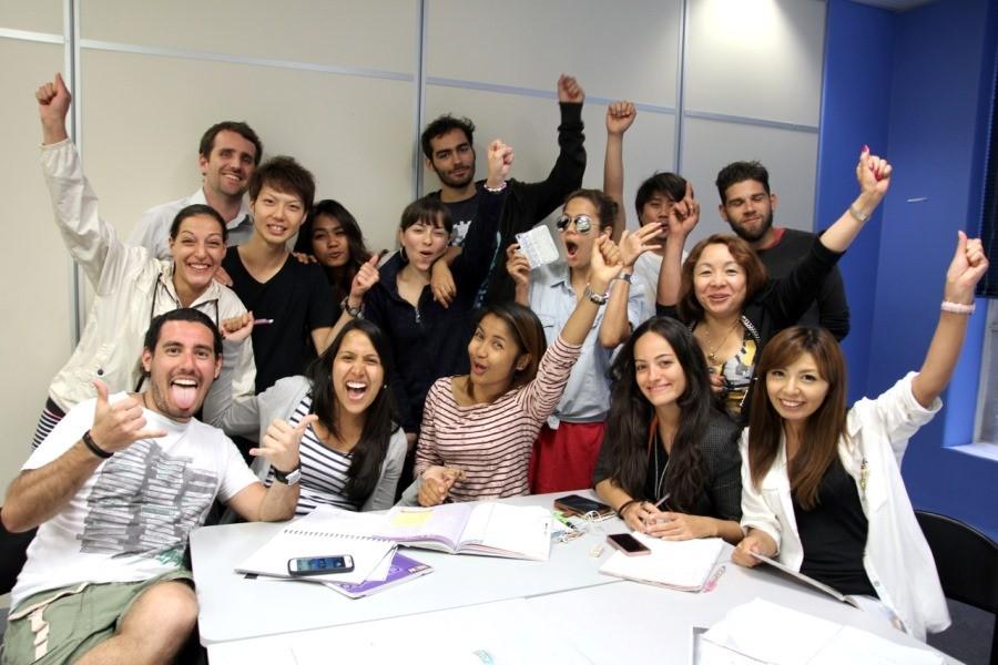 LAB 国際色豊かな留学生たち