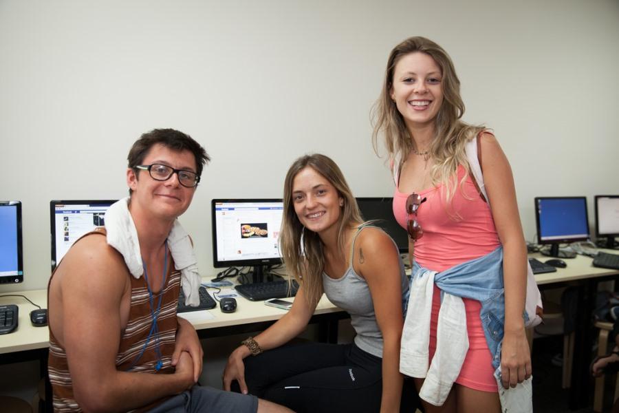 インフォーラム・エデュケーション・オーストラリア コンピュータールーム
