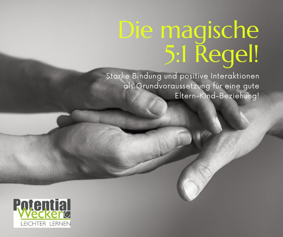 Die magische 5 : 1 Regel