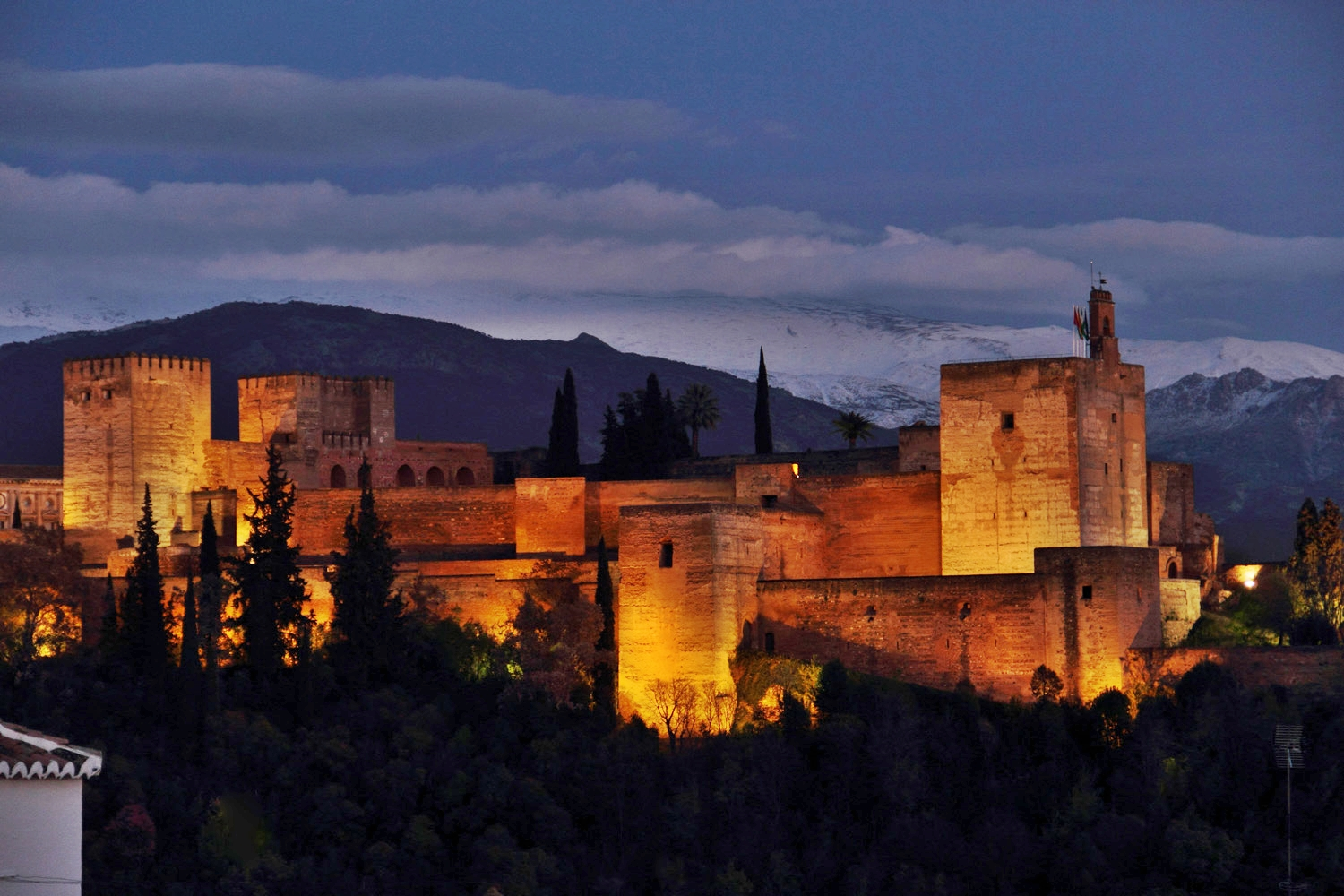 """Night View on Alhambra"" - Granada - ALH03054"