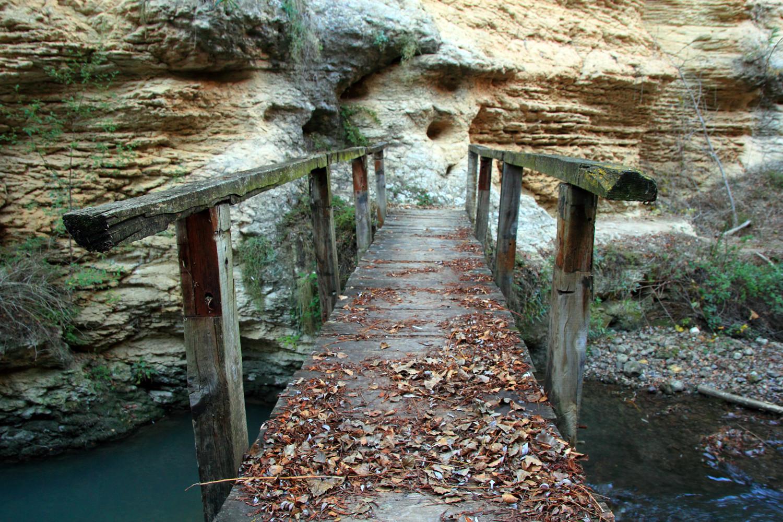 """The Wooden Bridge"" - Rio Cacin, Cacin, Granada - B05200"