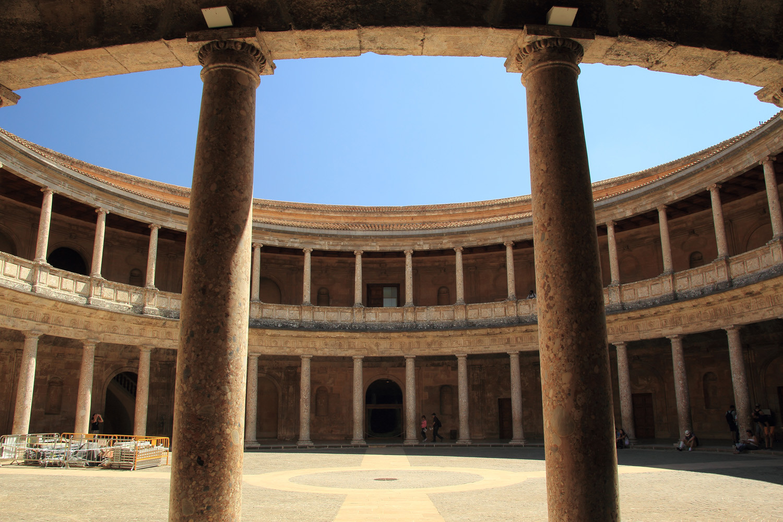 """Palace of Charles V"" - Alhambra, Granada - ALH09532"