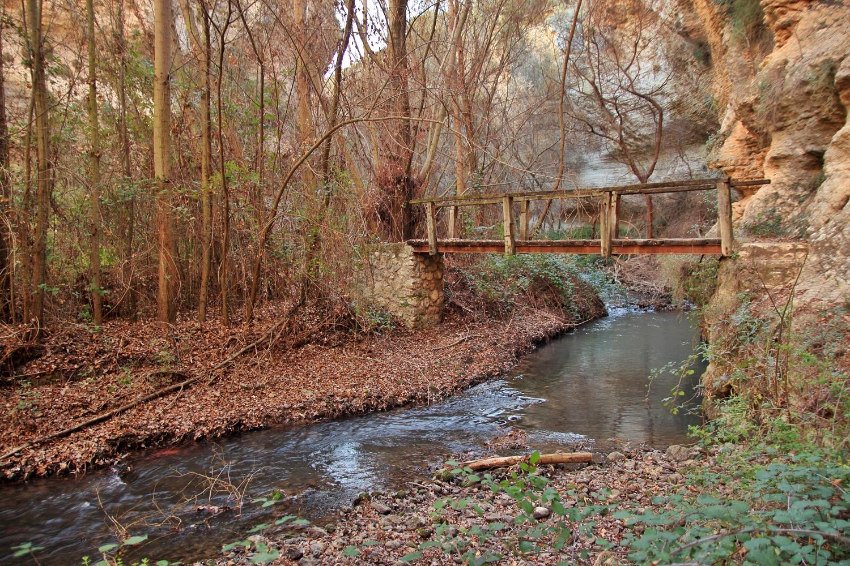"""The Wooden Bridge"" - Rio Cacin, Cacin, Granada - B05110"