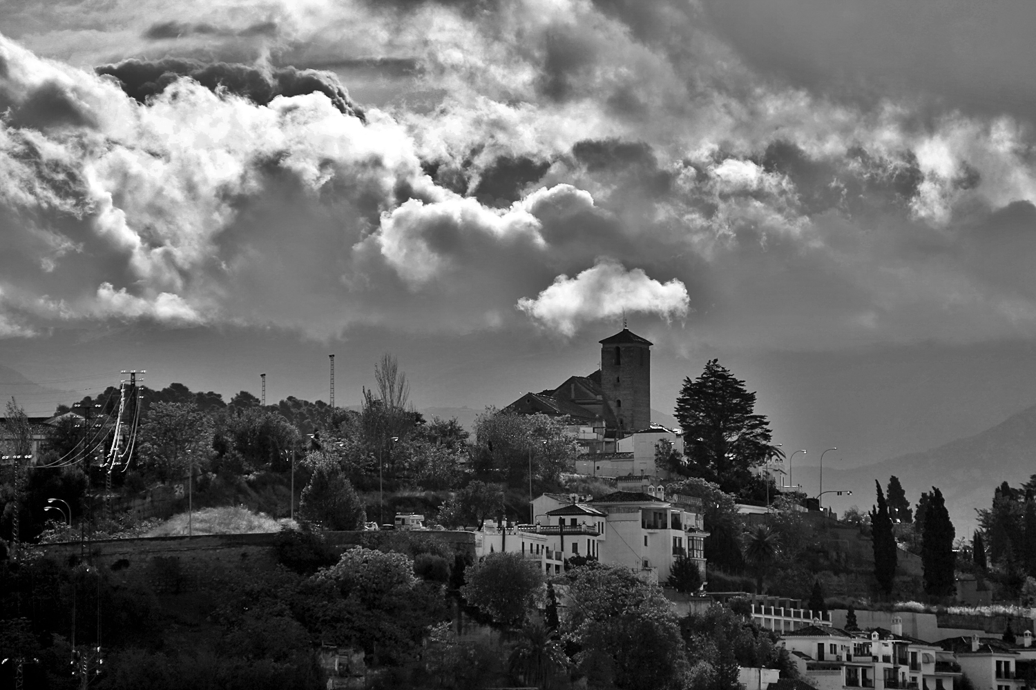 """Mysterious Cloud"" - Granada - HB08076"