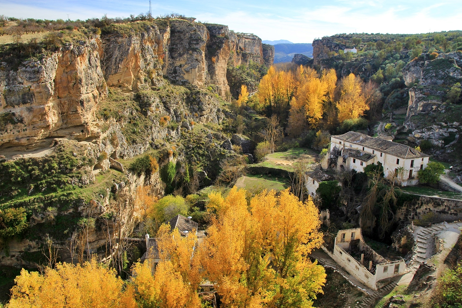 """Autumn Canyon"" - Alhama, Granada - LS01187"