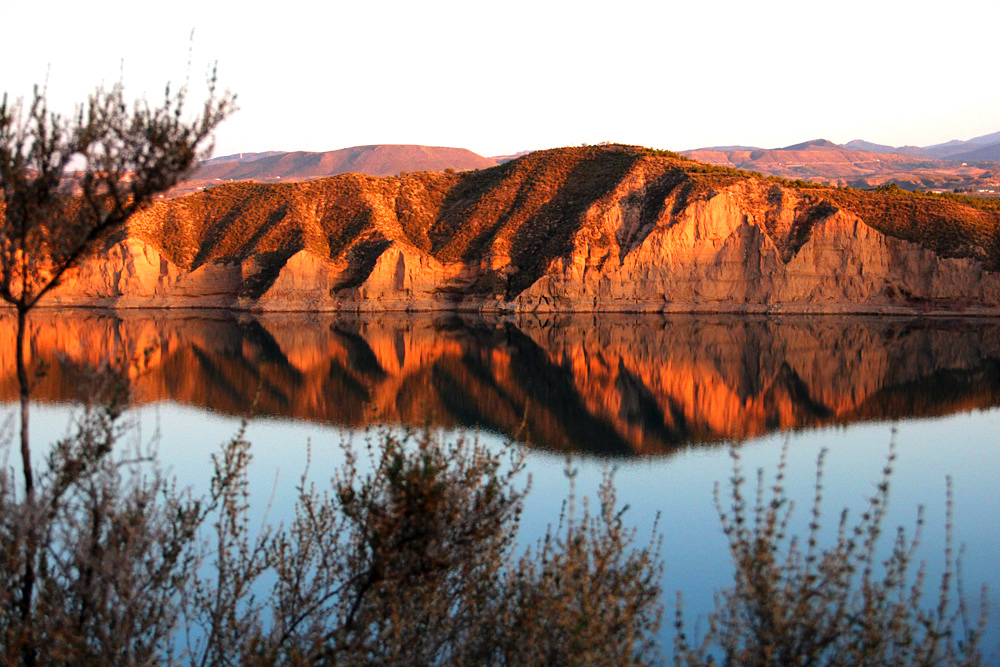 """Rock Reflection"" - Embalse de Negatin, Granada - L02063"