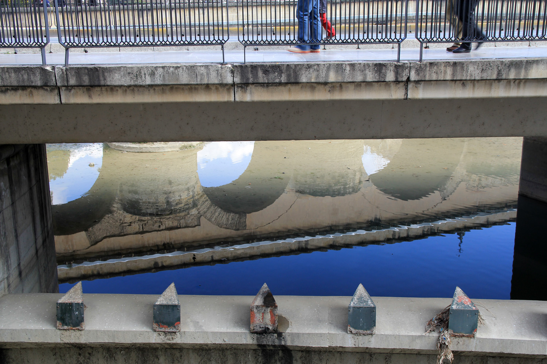 """Roman Bridge Reflection"" - Granada - B02887"
