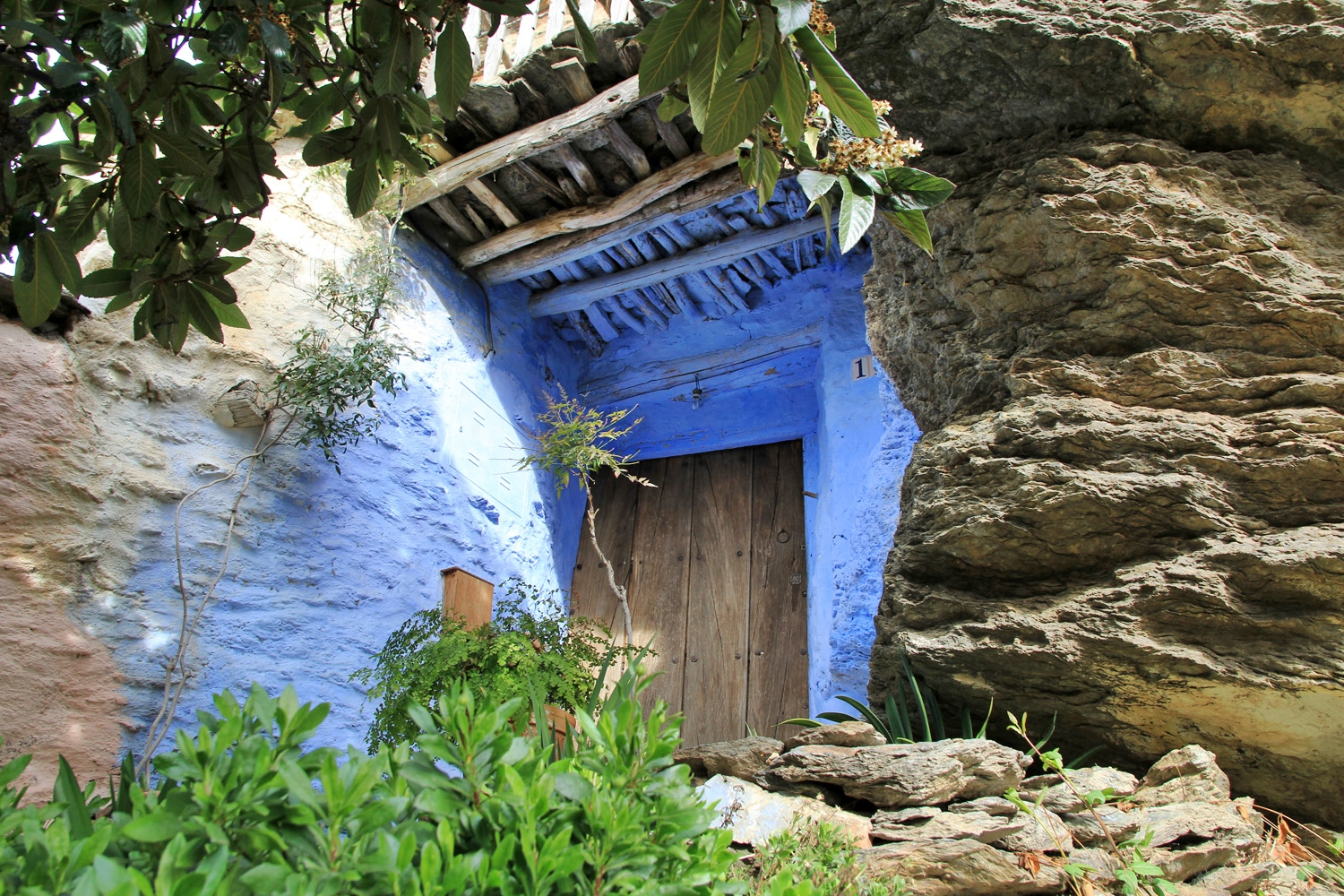 """The Blue House"" - Altalbéitar, Granada - V08180"