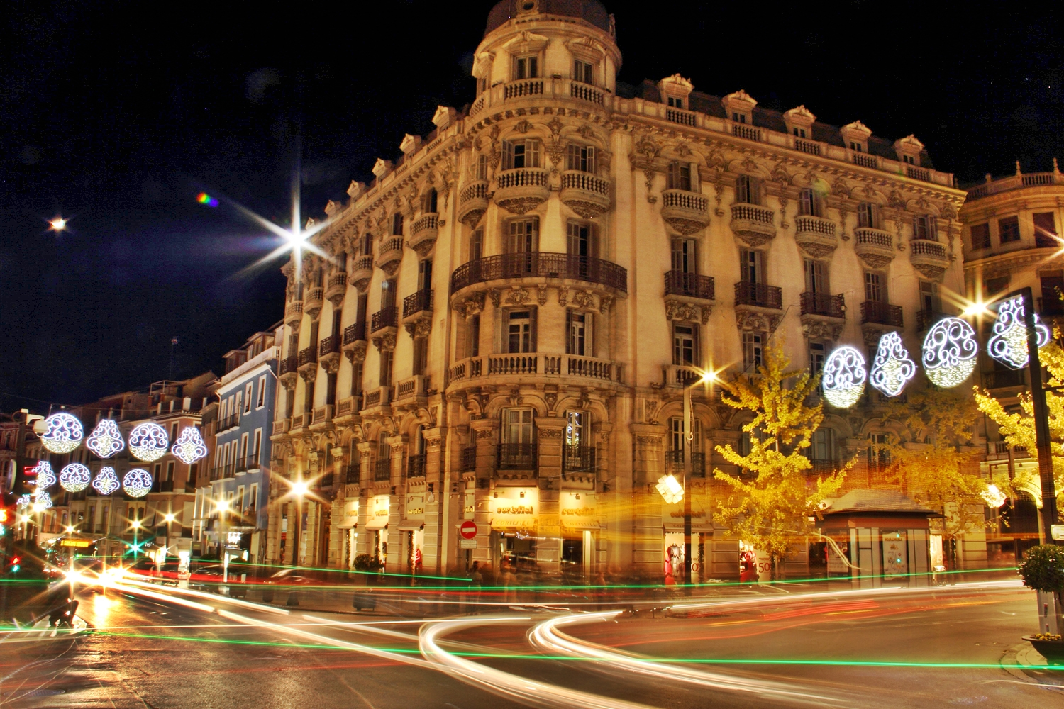 """Chrismas Lights"" - Gran Via, Granada - FL04162"