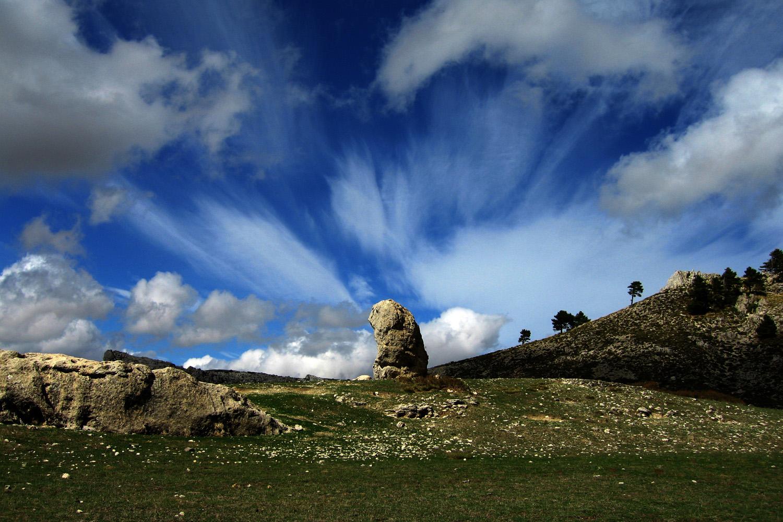 """The Magic Stone"" Sierra Seca, PN Sierra de Castril, Granada - DR01315"