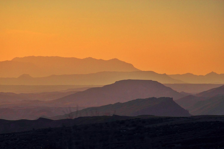"""Late Evening Shadows"" - PN Sierra Magina - LS02034"