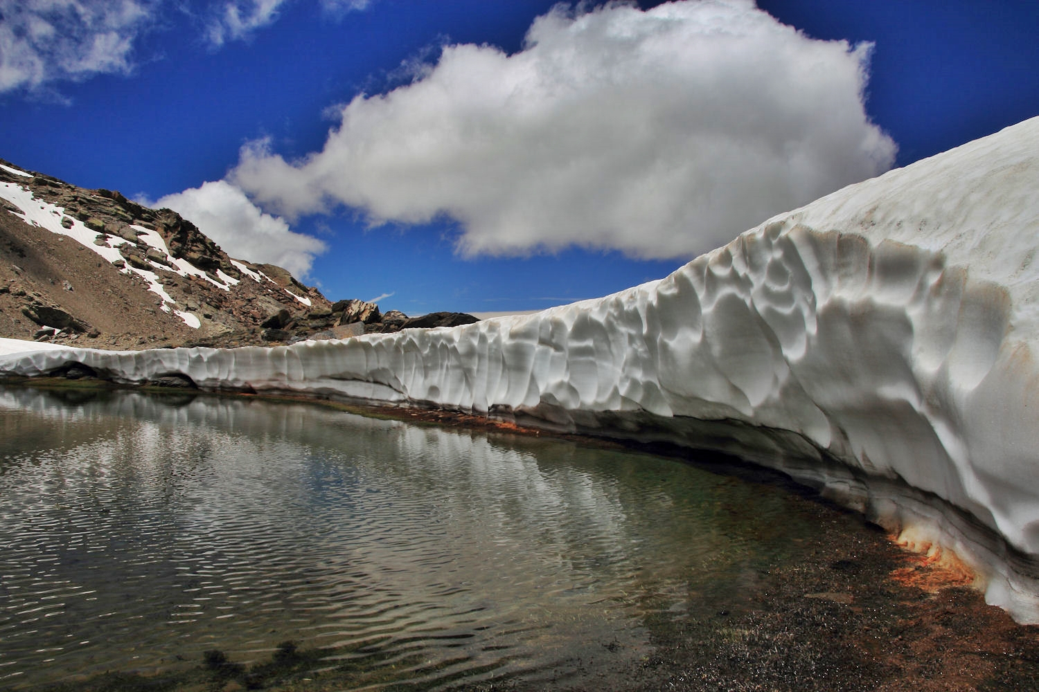 """The Snow Wall"" - PN Sierra Nevada - DF09698"
