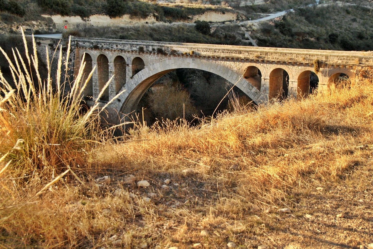 """The Roman Bridge"" - Rio Cacin, Cacin, Granada - B05225"
