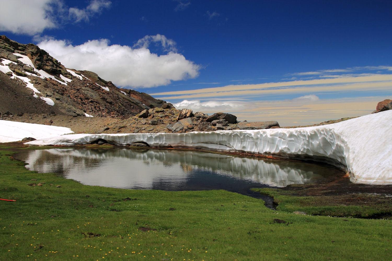"""The Snow Wall"" - PN Sierra Nevada - DF09691"