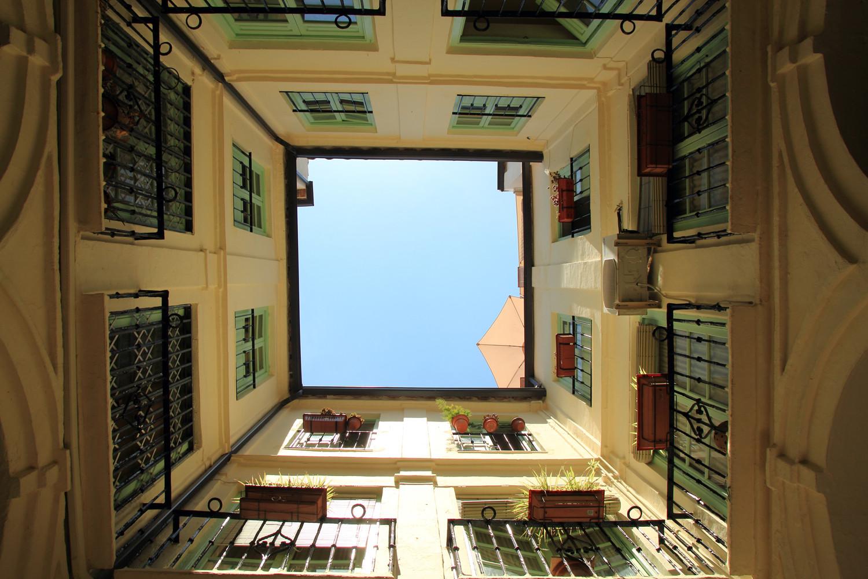 """""""The Blue Quadrant"""" - Square Malaga - VH09042"""