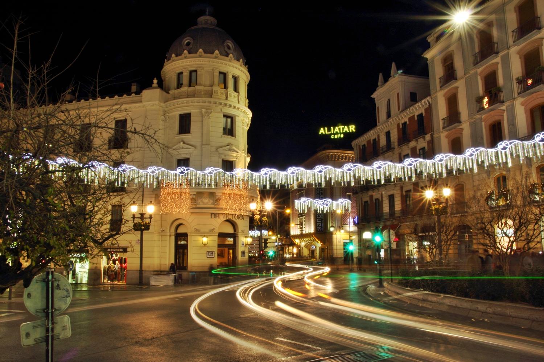 """Chrismas Lights"" - Recojidas, Granada - FL04210"