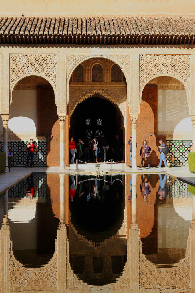 """The Court of the Myrtles""- Alhambra, Granada - ALH08267"