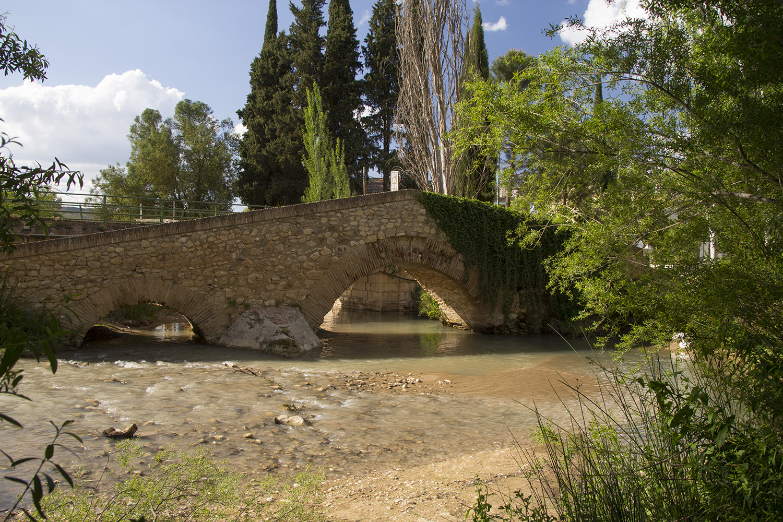 """""""Puente Romano"""" - Rio Frio, Granada - B05136"""