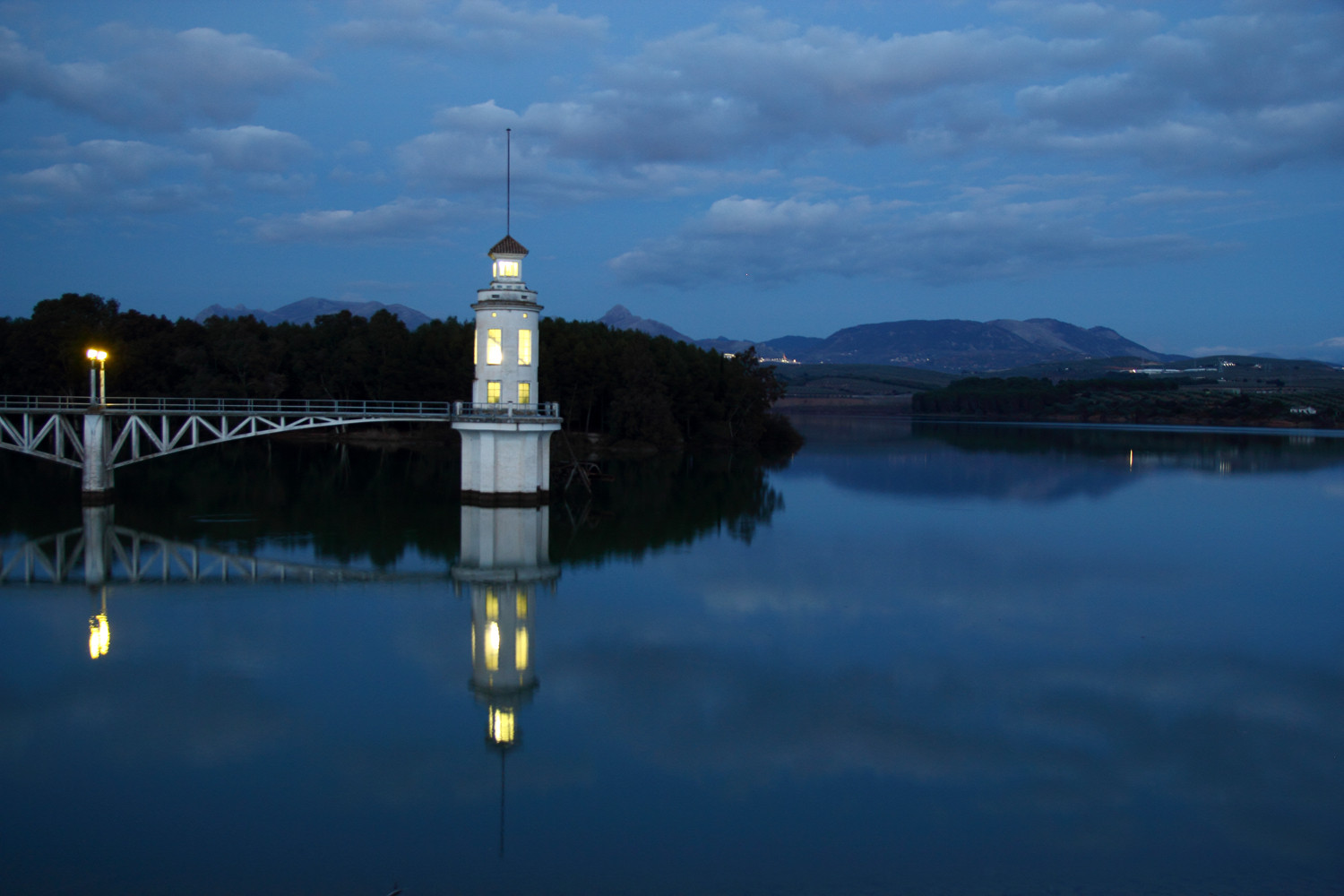 """The Tower by Night"" - Pantano de Cubillas, Granada - L07792"