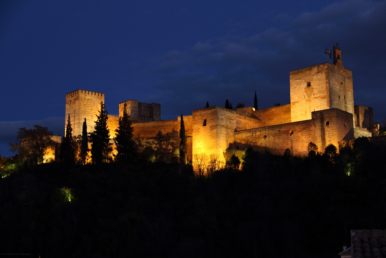 """Night View on Alhambra"" - Granada - ALH03058"