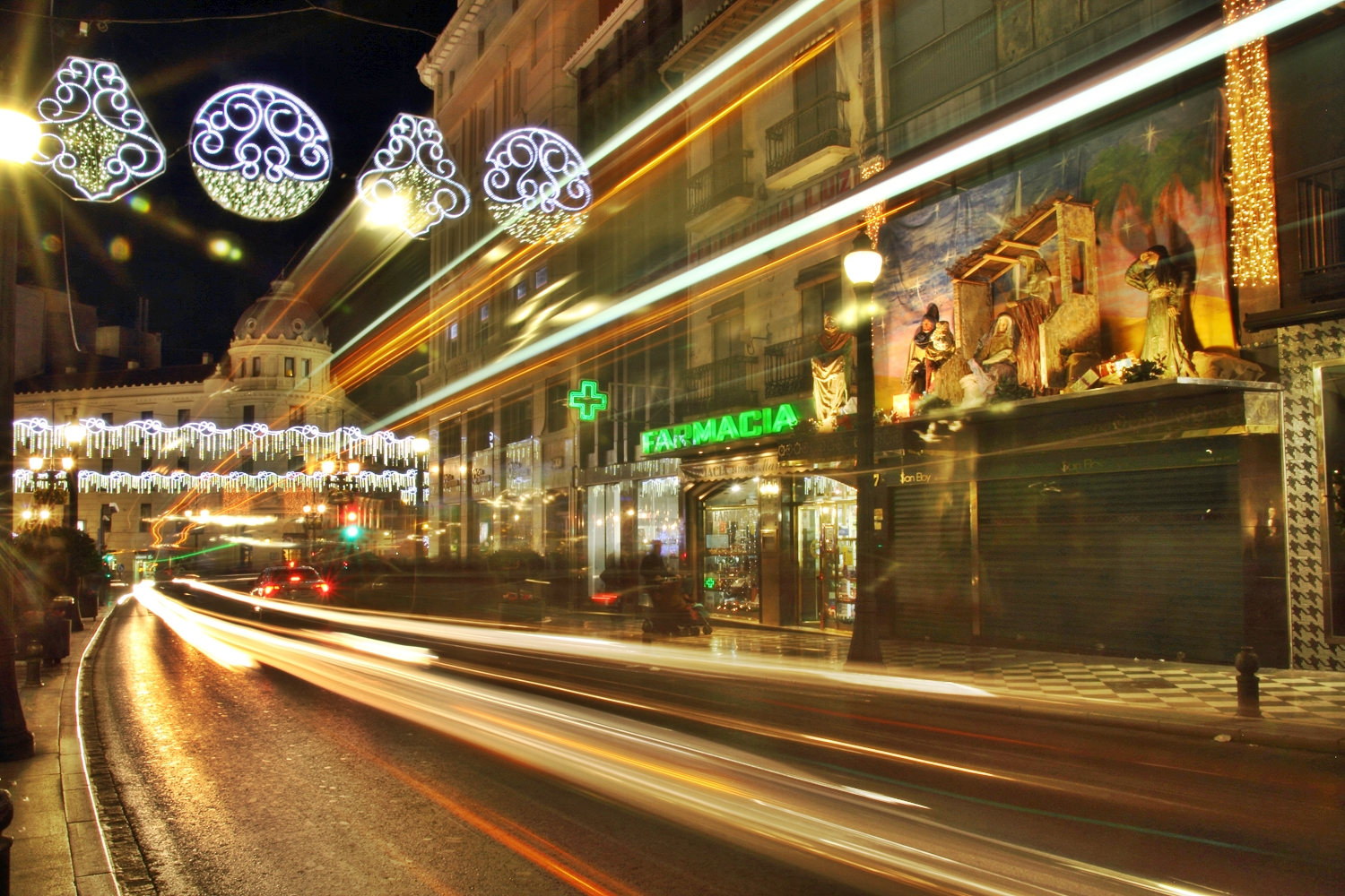 """Chrismas Lights"" - Gran Via, Granada - FL05195"