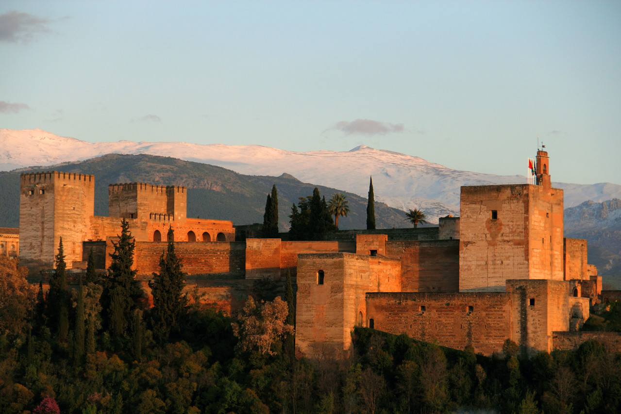 """View on Alhambra"" - Granada - ALH02970"