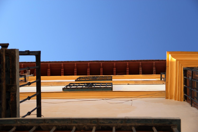 """""""La Casa Amarillo"""" - Street scene Malaga City - VH05608"""