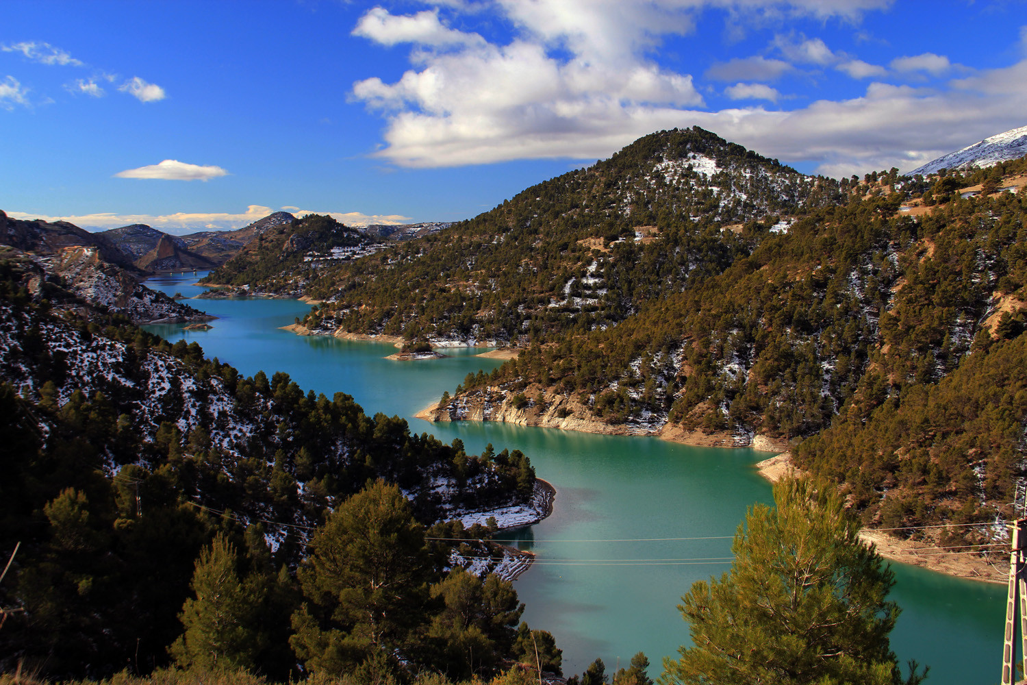 """Embalse de Portillo"" - PN Sierra de Castril, Granada - L05494"