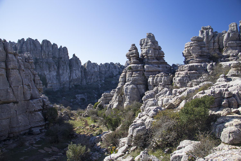 """""""Rock Pilars"""" - PN Torcal, Malaga - DR00116"""
