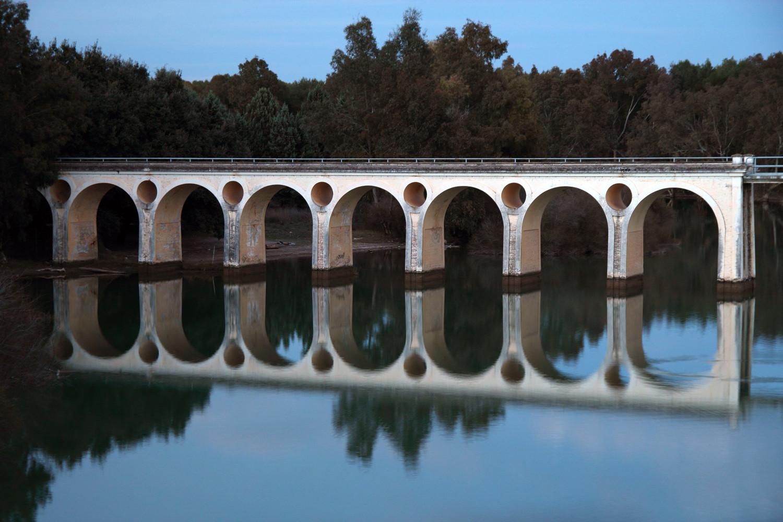 """""""Double Bridge"""" - Pantano de Cubillas, Granada - B07779"""