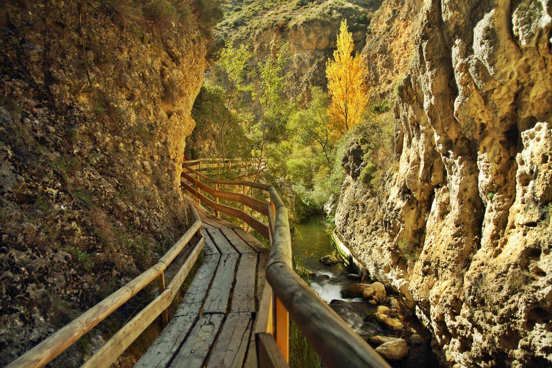 """Pasarela Colgante Castril"" - Castril, Granada - B03731"